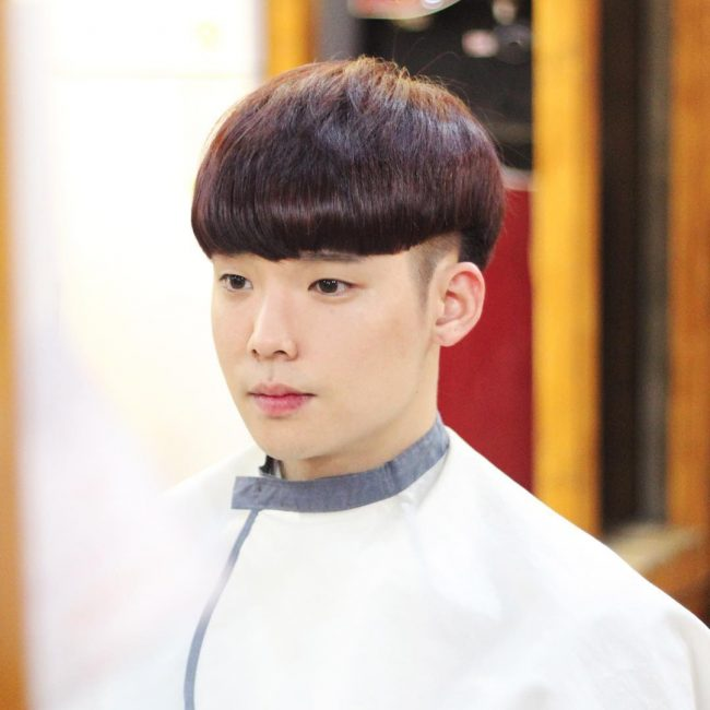 The Bowl Cut with a Twist