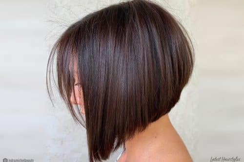The best short a-line bob haircuts