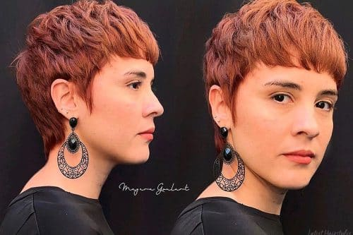Pictures of the best pixie cuts for thick hair
