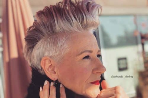 The most popular short hairstyles for women over 50
