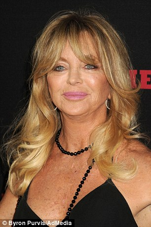 The study found natural blondes had an average IQ score within 3 points of brunettes and redheads. Goldie Hawn (pictured) is a member of Mensa
