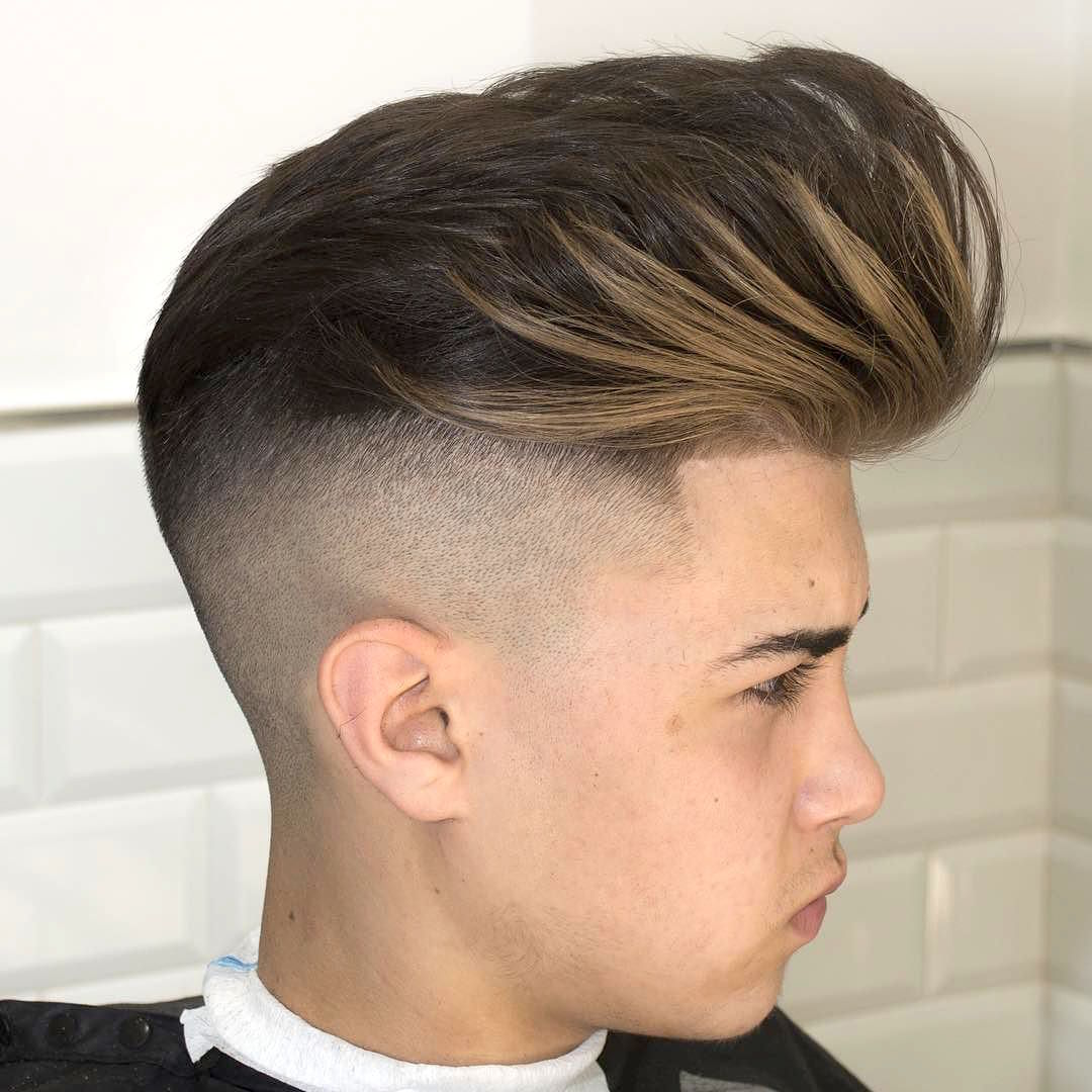 Long Pompadour Hairstyle For Men