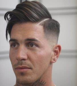 alan_beak side part haircut hairstyles for men fade