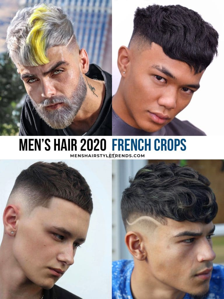 French crops haircuts for men 2020