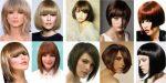 Стрижки средние волосы с челкой – фото стрижки с челкой, тенденции, идеи, новинки